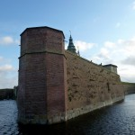 Kronborg Castle Moat.  After repeated attacks, the Danish King ordered a more defensive moat be constructed.