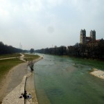 Isar river through Munich