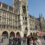 Altstadt of Munich, main square