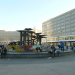 Youths at Alexander Platz