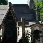 Scenes from Pere Lanchaise, a 110 acre cemetery