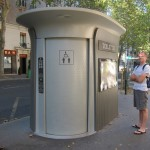 Free, clean public toilets throughout Paris.  My guess is they're trying to cut down on the locals unbuttoning their pants just wherever.