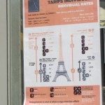 Pricing for the Eiffel Tower.  Tres Complex.