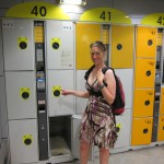 Finally working out how the locker storage at Gare de Nord (Station) works