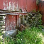 Old norsk farm building
