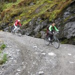 Steep descent to Flam