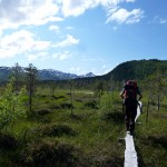 Senja mountain trail