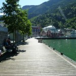 Lunch on Odda waterfront