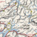 57km trail from Finse to Flam